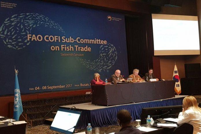Sesión COFI y el comercio pesquero de la FAO