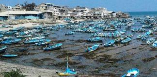 Fenómeno natural permite ver fondo marino en costas ecuatorianas
