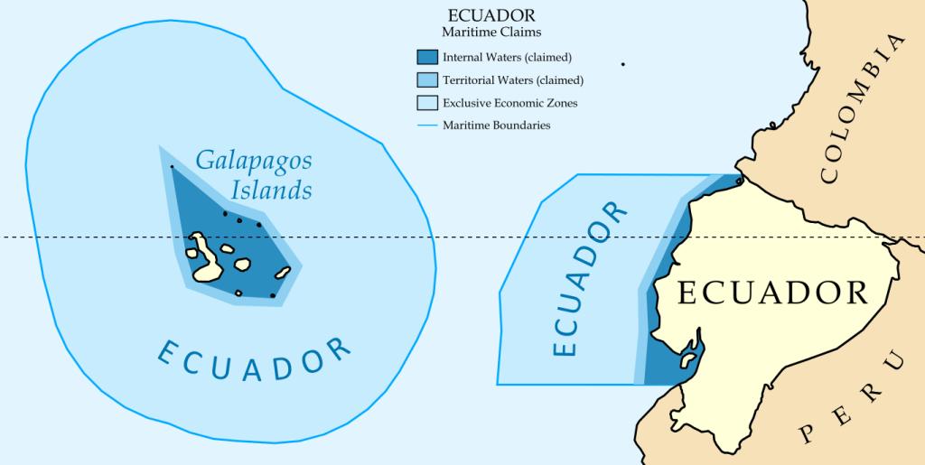 Zona económicamente exclusiva del Ecuador