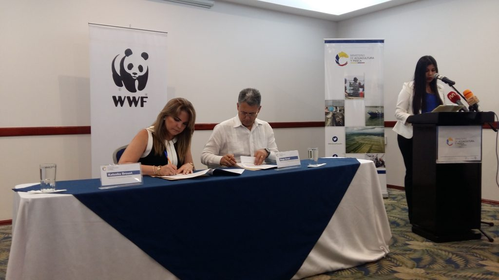 wwf ministerio de acuacultura y pesca ecuador